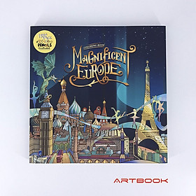Magnificent Europe Coloring Book