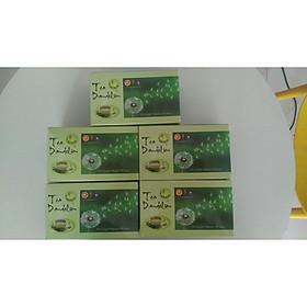Bộ 5 Hộp lớn  trà bồ công anh dandelion chính hãng giống Pháp P&K