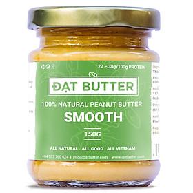 Bơ Đậu Phộng Nguyên Chất Xay Mịn Đạt Butter (150g)