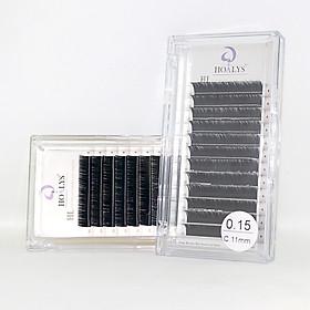Lông Mi Nối-Mi HL Hoalys EL-04 - , Sợi mi dày hơn và đen đậm, tạo nên nhưng bộ mi thật ấn tượng, độ dày 0.15, độ công B, C, CC và chiều dài 5-16mm