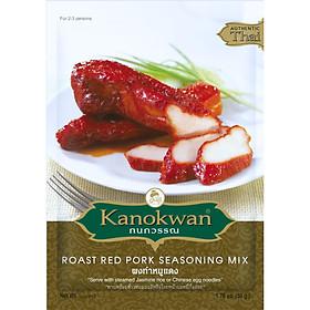 Bộ  3 gói Gia vị thịt xá xíu Kanokwan 50g