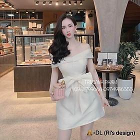 ️ Váy lụa sang chảnh đi chơi hay đi tiệc đều rất là hợp nhé, mua hàng nhà shop yên tâm về chất lượng và sản phẩm nhé