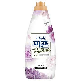 Nước xả vải Hàn Quốc Pigeon Botanic chai 1L