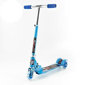 Xe Scooter 380 Xanh dương cho bé trai từ 3 tuổi đến 10 tuổi có thể thay đổi chiều cao