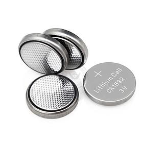 Pin cúc áo CR1632 / CR2032, pin cảm biến áp suất lốp, chìa khóa ô tô, xe máy... 3V LITHIUM