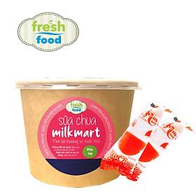 Combo 10 gói Sữa chua MilkMart - vị dâu tây