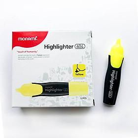 Combo 6 cái Bút đánh dấu MONAMI Highlight 604
