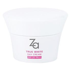 Hình đại diện sản phẩm Kem Dưỡng Làm Sáng Và Đều Màu Da Ban Ngày Za True White Ex Day Cream SPF20 PA++ (40ml) - 40527