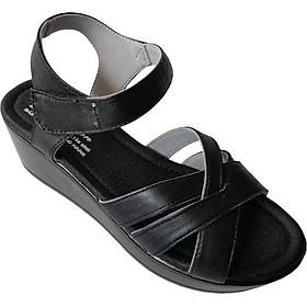 Giày Sandal Xuồng Nữ BIGGBEN Da Bò Thật SDX09