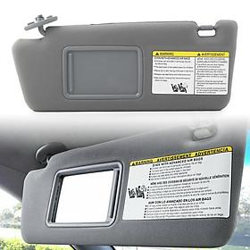 Driver Sun Visor for Toyota Tacoma 2005 2006-2011 74320-04181-B1 74320-04180-B1