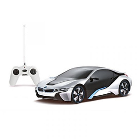 Xe điều khiển BMW i8 Bạc RASTAR SKU R48400-2