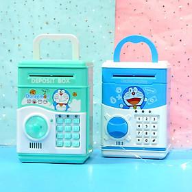 Mô hình két sắt Doraemon