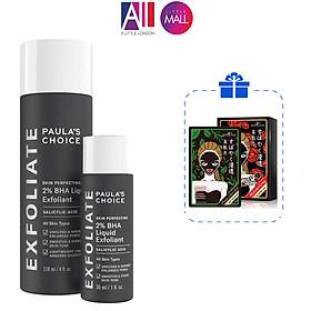 Tinh chất 2% BHA tẩy tế bào chết Paula's Choice skin perfecting 2% BHA liquid exfoliant TẶNG mặt nạ Sexylook (Nhập khẩu)