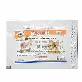 Dinh dưỡng mượt lông khỏe mạnh cho chó mèo (Bịch 10 gói)