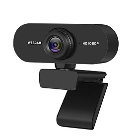 1080P 2MP HD Webcam 30fps Camera Noise-reduction Microphone Web Cam HD Laptop Computer Camera USB Plug & Play for Laptop