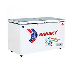 TỦ ĐÔNG MÁT INVERTER SANAKY 300 LÍT VH-4099W4K ĐỒNG (R600A) (KÍNH CƯỜNG LỰC) - HÀNG CHÍNH HÃNG