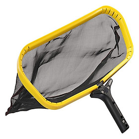 Pool Skimmer Net Leaf Rake Catcher with Deep Mesh Skim Bag Water Cleaner for Swimming Pool Hot Tub Pond Fountain