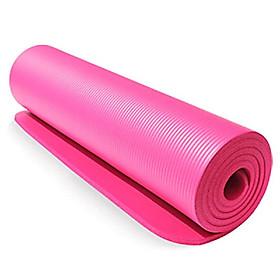 Thickened Yoga Mat Multi-functional Non-slip Yoga Mats 1830mm*610mm*10mm Grey-0