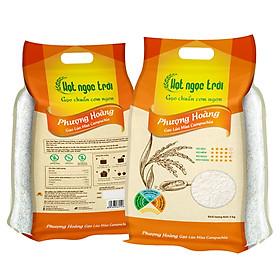 Gạo Hạt Ngọc Trời Phượng Hoàng Túi 5Kg - Gạo lúa mùa Campuchia