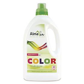 Nước giặt hữu cơ đồ màu (không dùng cho đồ lụa và len) hương hoa đoạn 1.5 lít - Almawin