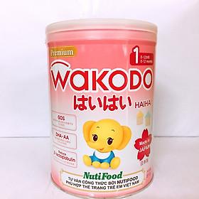 Sữa bột Wakodo Haihai 1- 810 gr dành  cho trẻ từ 0 dến 12 tháng tuổi