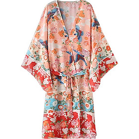 Áo Khoác Nữ Cardigan Dáng Kimono