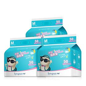 Miếng Lót Thấm Sữa Cho Mẹ Bầu Springbuds (3 Hộp * 50 Miếng)