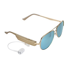 A9 Smart Glasses BT Stereo Headset Polarized Sunglasses with Mic for Riding Driving Fishing Running Golf Outdoor