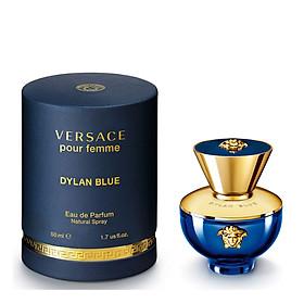 Nước Hoa Nữ Versace Pour Femme Dylan Blue - Eau De Parfum (50ml)