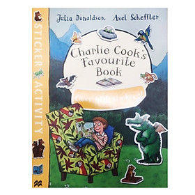 Charlie Cook's Favourite Book Sticker Book