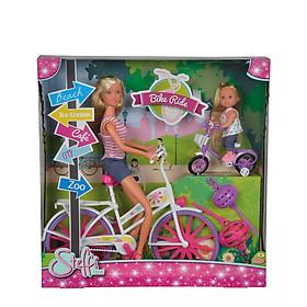 Đồ Chơi Búp Bê Xe Đạp Dành Cho Bé Yêu STEFFI LOVE Bike Ride 105733045 - Hàng Chính Hãng