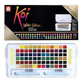 Màu nước nén Koi Water Colors 72 màu