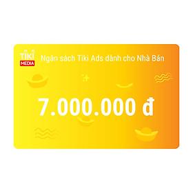Ngân Sách Tiki Ads Dành Cho Nhà Bán 7.000.000