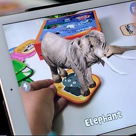 Thẻ học thông minh EKID 4D Augmented Reality Flashcards. EKID - 48 Animals & 48 Vehicles