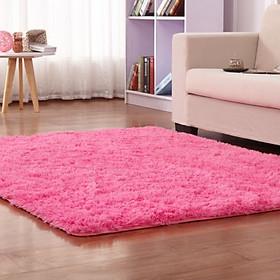 Thảm lông trải sàn phòng khách phòng ngủ