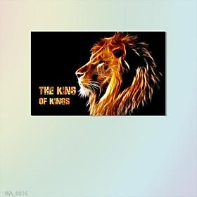 """Tranh Trang Trí Sư Tử """"The King Of Kings"""" - W376"""