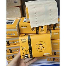 Giấy ăn gấu trúc SiPiao chính hãng [ 1 thùng 30 gói - 1 gói 300 tờ ]