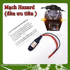 Mạch Hazarad 2021 ( đèn ưu tiên ) cho các dòng xe - Mạch chớp xi nhan Hazard 2021 Green Networks Group ( 1 cái )