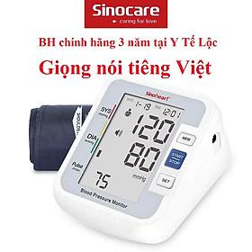 Máy đo huyết áp có giọng nói Tiếng Việt Sinoheart BA 801