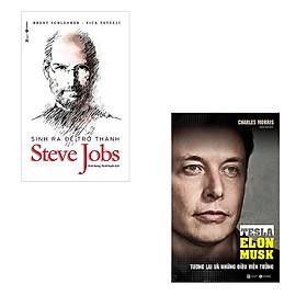 Bộ sách về ông trùm công nghệ: Sinh Ra Để Trở Thành Steve Jobs - Tesla Tương Lai Và Những Điều Viễn Tưởng