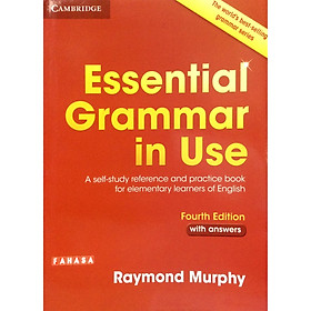 "Essential Grammar in Use Book with Answers Edition: A Self-Study Reference and Practice Book for Elementary Learners of English giá chỉ còn <strong class=""price"">153.881đ</strong>"