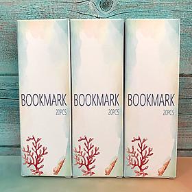 BOOKMARK CHỦ ĐỀ ĐẠI DƯƠNG XANH 20 pcs