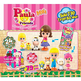 Đồ Chơi Búp bê Paula & Friends - phiên bản mùa xuân PAULA FRIENDS 2 23820