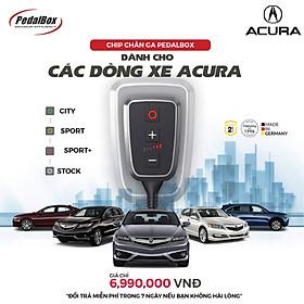 Chip chân ga Pedalbox DTE3719 cho Toyota Camry, Honda Civic, CR-Z, JAZZ