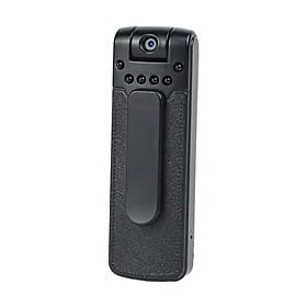 Compact Body Camera Video Spy Hidden Camcorder 180-Degree w/ Back Clip