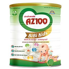 3 Hộp Sữa dinh dưỡng AZ100 BIBI KIDS 400G
