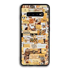 Ốp lưng Harry Potter cho điện thoại Samsung Galaxy S10 Plus - Viền TPU dẻo - 02054 7788 HP04 - Hàng Chính Hãng