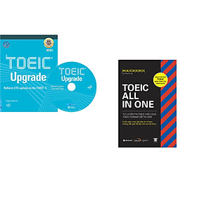 Combo 2 cuốn sách: TOEIC Upgrade + Hackers TOEIC ALL-IN-ONE