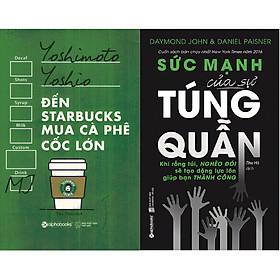 Combo Sách Cách Quản Lý Tài Chính Thông Minh Và Chi Tiêu Hợp Lý ( Đến Starbucks Mua Cà Phê Cốc Lớn + Sức Mạnh Của Sự Túng Quẫn ) tặng kèm bookmark Sáng Tạo