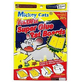 Tấm keo dính chuột siêu dính chặt 22 x 33 cm